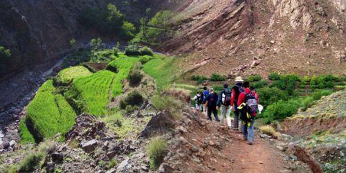 Ascension du Mont Toubkal en 03 jours et 02 nuits