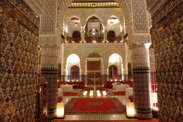 Dîner et spectacle dans un palais marocain de Marrakech