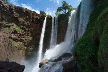 Excursion d'une journée aux cascades d'Ouzoud au départ de Marrakech